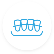 Crowns and bridges icon